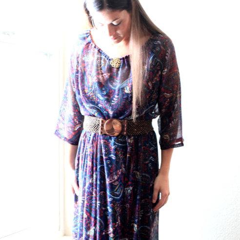 anthropologie inspired dress tutorial
