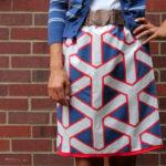 vintage skirt tutorial