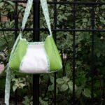 purse tutorial- how to make a pleated purse