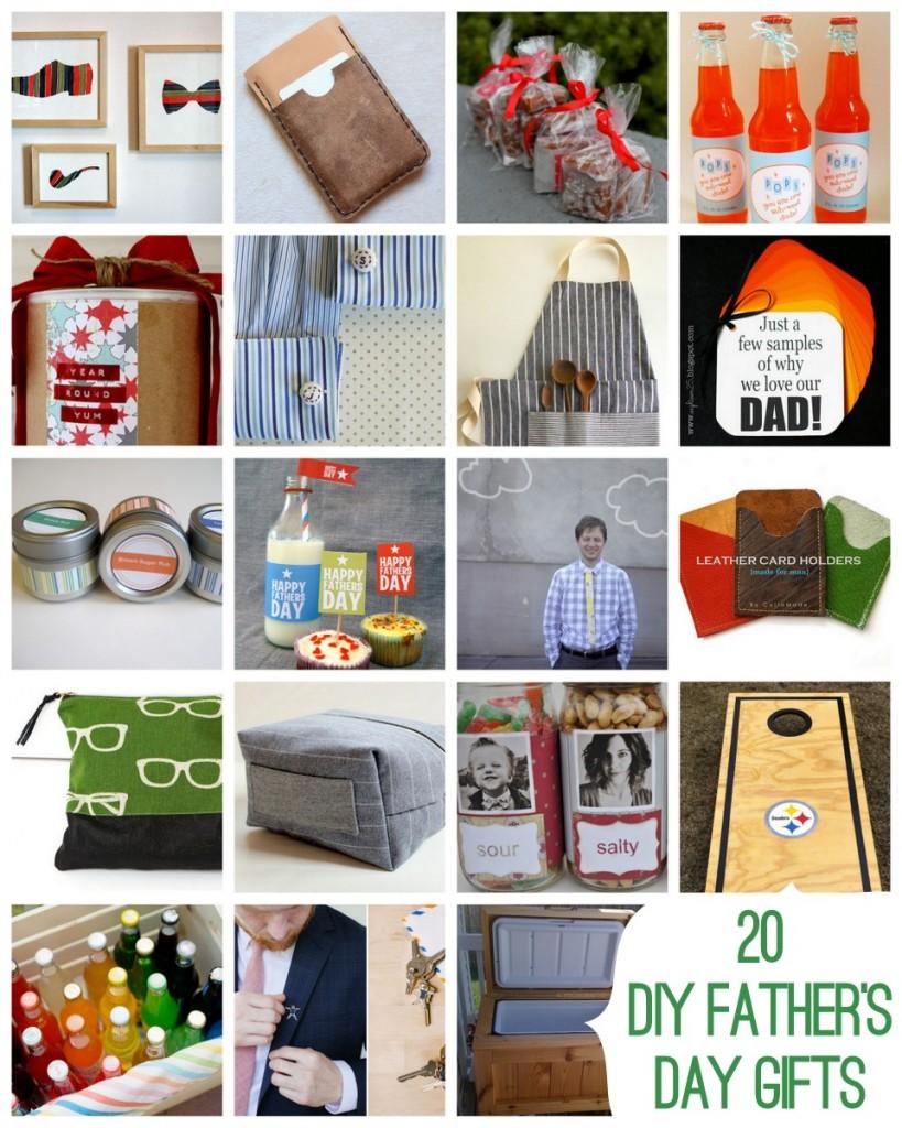twenty great DIY father's day gift ideas