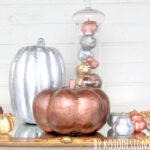 metallic pumpkin tutorial