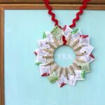 tea wreath handmade gift