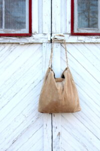 refashioned leather tote by kojodesigns