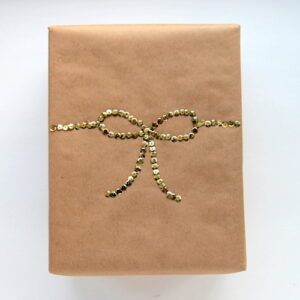 pretty ways to dress up a brown paper package