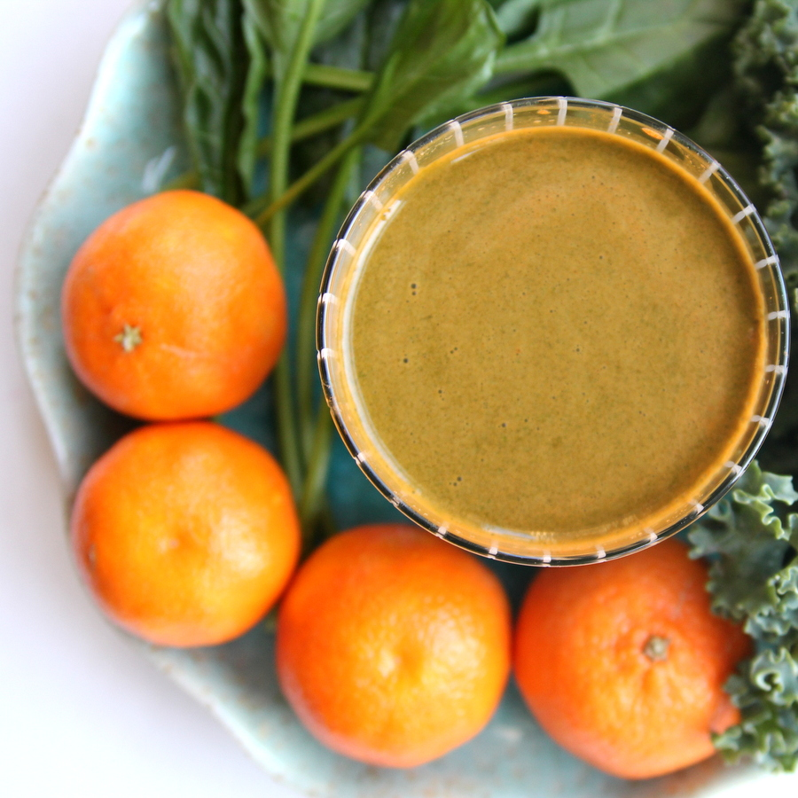 cold buster green juice- give yourself a boost of vitamin c