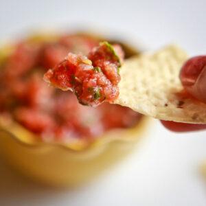 memade salsa at kojo designs