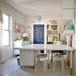 studio space reveal- sewing room/craft room