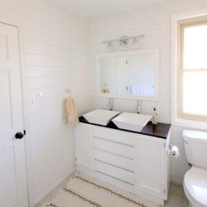 bathroom mini makeover