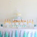 sprinkled with love cloud baby shower