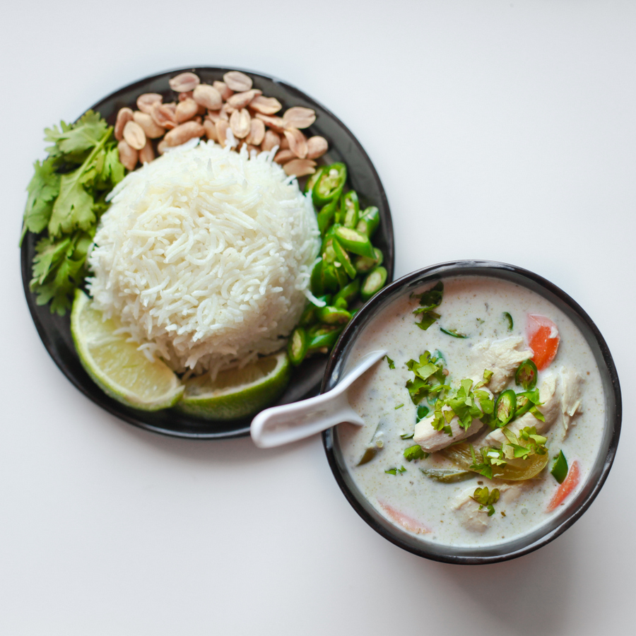 simple thai green curry