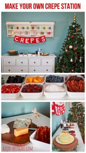 make your own crepe station.