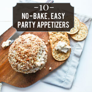 easiest (no bake!) holiday appetizers
