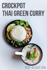 simple thai green curry