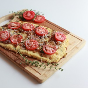 pizza crust made with cauliflower