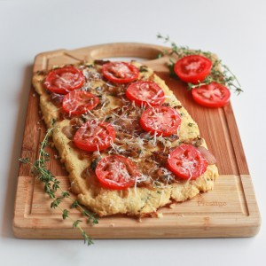pizza crust made with cauliflower