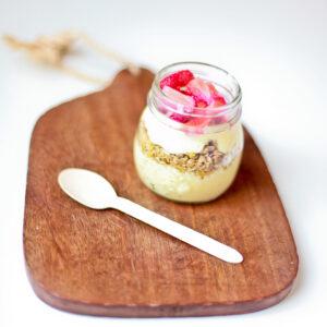 yogurt parfait bar: super simple brunch idea