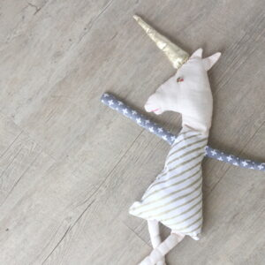 how to make a unicorn doll