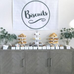 Biscuit Bar- the perfect addition to any brunch!