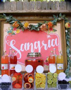 batch sangria recipe- how to make sangria for a crowd