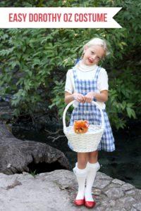 Easy Wizard of Oz Halloween Costumes- Dorothy