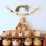 DIY kindness Christmas advent calendar (free printables)