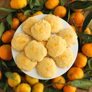 orange drop cookies (a not-chocolate cookie exchange option!)
