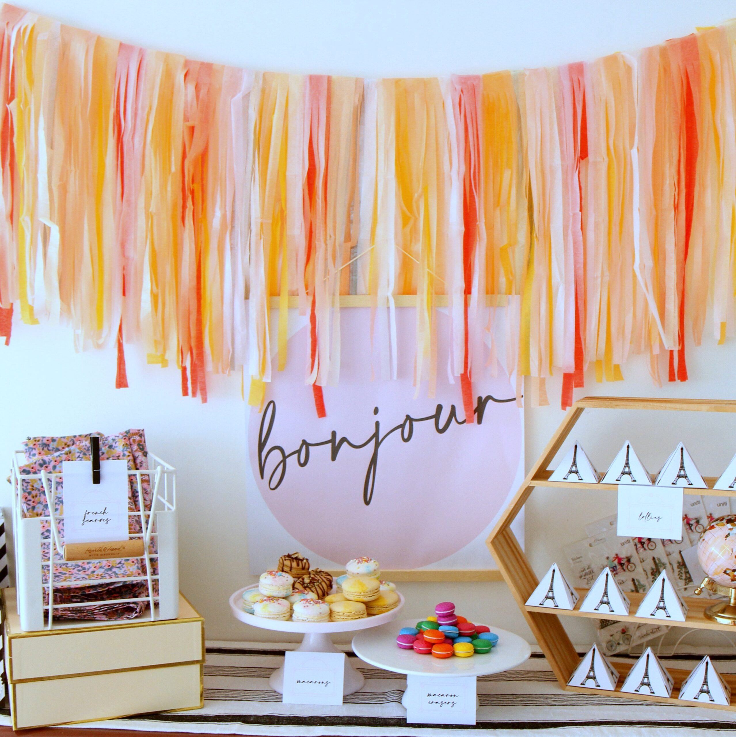 paris birthday party ideas