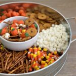 fall snack mix- pumpkin munch (or scarecrow crunch or monster mix!)