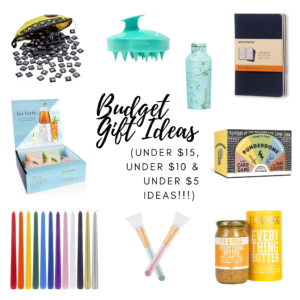 budget gift ideas!