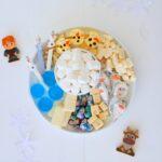 frozen themed grazing platter